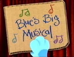 image blue u0027s big musical title card jpg blue u0027s clues wiki