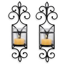 Wrought Iron Candle Wall Sconces Chic Wrought Iron Wall Candle Holders You Will Admire Amazing