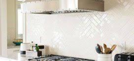 35 Beautiful Kitchen Backsplash Ideas Amazing Herringbone Pattern Subway Tile Backsplash 35 Beautiful