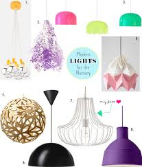 Nursery Lighting Fixtures Modern Pendant Lights For Your Nursery Spearmint Baby Baby
