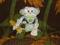 Baby Monkey Centerpieces by Deco Mesh Monkey Baby Shower Centerpiece Baby Shower Ideas