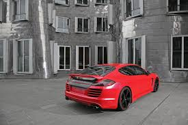 Porsche Panamera Matte Black - red porsche panamera tuning by anderson germany