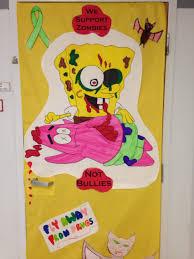 Red Ribbon Week Door Decorating Ideas 35 No Bullying Door Decorating Ideas Bullying Prevention Month