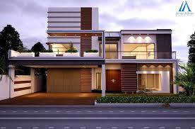 interior design for construction homes modern house frontelevation along with mumty view by team aaa