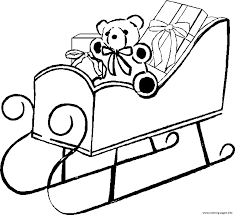 coloring pages of santa claus sleigh9e2b coloring pages printable