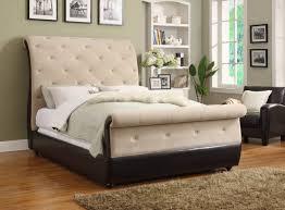 White Single Sleigh Bed Chair Outstanding Ava Velvet Tufted Sleeper Sofa Best Collections