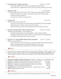 resumes for high students in contests resume trinh hong duc updated 17 october 2011