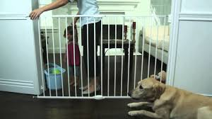 top of stairs metal gate extra tall u0026 wide by munchkin youtube