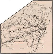 map st louis st louis county missouri 1904 map