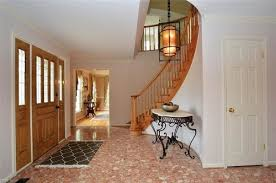 what to do with marble floor in foyer