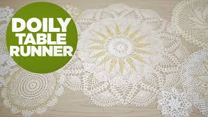 Gold Lace Table Runner Diy Holiday Table Runner With Vintage Gold Lace Hgtv