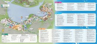 Disney World Epcot Map Walt Disney World Maps Wdw Planning