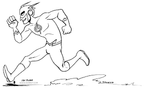 flash coloring pages flash coloring page running flash superhero