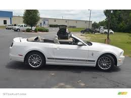 white ford mustang convertible performance white 2013 ford mustang v6 premium convertible