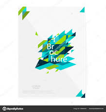 brochure leaflet flyer cover template minimalistic design