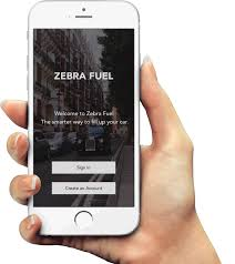zebra fuel on demand fuel delivery in london