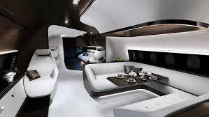 technik design mercedes and lufthansa technik design cabin vip