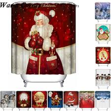 online buy wholesale christmas shower curtain from china christmas