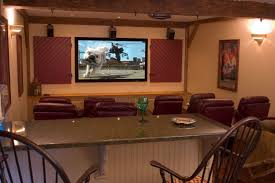Comfortable Home Theater Seating Home Theater System With Award Winning Design And Installation