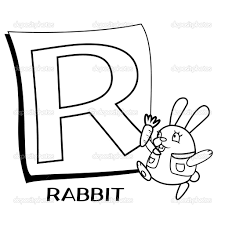 letter r coloring pages for kids preschool and kindergarten
