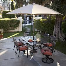 Cast Aluminum Patio Furniture Sets - belham living san miguel cast aluminum 7 piece patio dining set