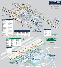 Map Of Airports Usa by Minneapolis U2013saint Paul International Airport Map