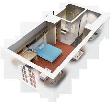 one bedroom with loft house plans house plans