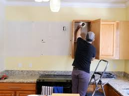 removing kitchen wall cabinets how to install kitchen cabinets and remove them