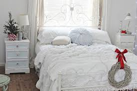 White Bedroom Decor Inspiration Inspiring White Christmas Bedroom Design Ideas