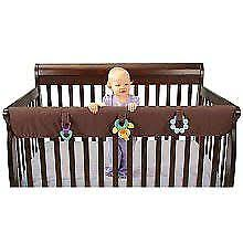 Convertible Crib Rail Leachco 13871 Easy Teether Xl Crib Rail Cover For Convertible