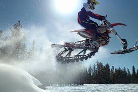 motocross snow bike new event at winter xgames mixes motocross with snowmobiles