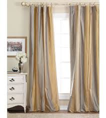 Eastern Accents Beddings Gold And Gray Silk Curtains Luxury Bedding By Eastern Accents