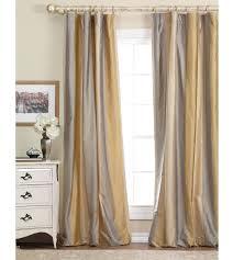 peach silk curtains orange curtain etsy design chic dreamy