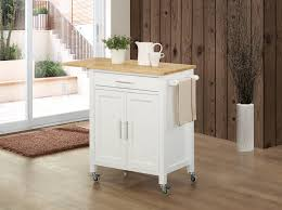 White Kitchen Island With Natural Top Indogatecom Cuisine Ikea Design White Kitchen Island With Natural