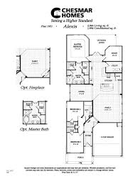 Floor Plans For 1 Story Homes The Alexis Plan Model