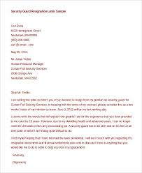 formal resignation letter 11 free word pdf documents download