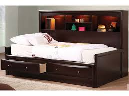 Full Storage Beds Full Size Storage Bed With Bookcase Headboard Gallery And Bedding