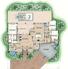 Florida House Plans With Pool High End Florida House Plan 66379we Architectural Designs