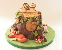 Wedding Anniversary Cakes Tree Stump 50th Wedding Anniversary Cake Marianne U0027s Cakes