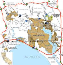 sonoma california map napa sonoma marshes wildlife area