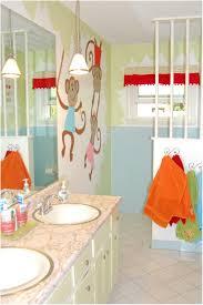 Kids Bathroom Decor Ideas Bathroom Monkey Bathroom Decor For Kids Nautical Unisex Kids