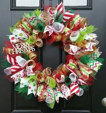 best 25 mesh ribbon wreaths ideas on mesh ribbon