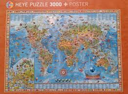 Kids World Map by A Great Jigsaw Puzzle And A Great World Map For Kids