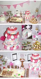 Decoration De Ballon Pour Mariage Une Déco De Baptême Digne D U0027une Princesse Déco De Table