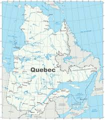 Map Of Canada Provinces Quebec Province Maps Canada Maps Of Quebec Qc