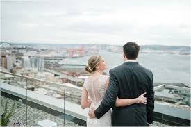 Wedding Photographers Seattle Urban Seattle Wedding At The Foundry Meredith Mckee Photography