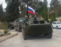 military vehicles russian military vehicles geo located to kurdish controlled kafr