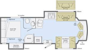 Type B Motorhome Floor Plans Aspect Floorplans Winnebago Rvs