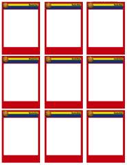 basketball card templates free blank printable customize