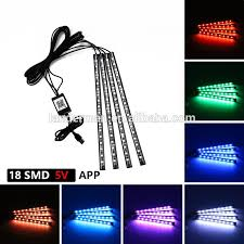 app controlled car lights wholesale interior car lights led rgb car mood lighting fit